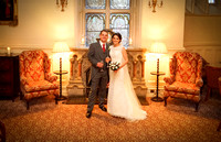 Chloe & Anthony, The Elvetham Hotel