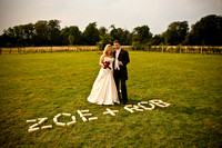 Zoe & Rob, Clock Barn, Whitchurch